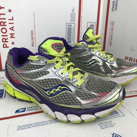 79bf176c Saucony Womens Ride 7 S10242-2 Size 8 Wide